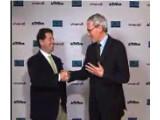 Bild: Robert Kotick, President und CEO von Activision und Jean-Bernard Lévy, Vorstandsvorsitzender und CEO von Vivendi.