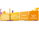 Bild: Tarife für junge Leute: Fünf SuperFlats von Vodafone.