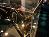 Bild: Der goldene PC der Omen-Reihe aus dem Hause Voodoo. Satte 24 Karat trägt der PC auf seiner Hülle.