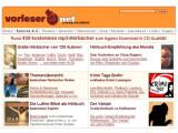 Bild: Vorleser.net: Kostenfreie Hörbucher in überzeugender Qualität.