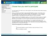 Bild: Deal à la Microsoft: das Feedback Program.