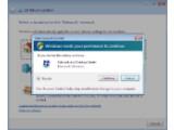 Bild: Die Benutzerkontensteuerung überprüft, ob eine Datei nicht nur aus Versehen angeklickt worden ist.(Klick vergrößert)