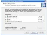 Bild: Windows-Komponenten entfernen: sysoc.inf macht es möglich.(Klick vergrößert)