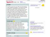 Bild: Umfangreich, aber mit Werbung: Yahoo Babelfish.