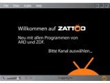 Bild: Zattoo: ARD und ZDF ab heute mit an Bord.