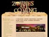Bild: Tipps für den Überlebenskampf gegen Zombies: Zombiesarecoming.com.