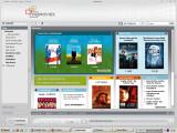 Bild: Ist die Software installiert und der Kunde registriert, kann das Stöbern im Onlone-Shop mit derzeit rund 300 Titeln beginnen.