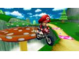 Bild: Baby Mario springt mit einem Motorrad.