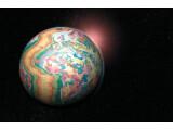 Bild: Mit geologischen Daten bestückt nicht mehr die blaue Kugel.