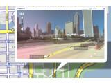 Bild: Die Skyline in der Straßenansicht.