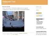 Bild: Bei Castpost (im Bild) und Blip.tv können Nutzer auch mit wenig Aufwand einen eigen Videoblog erstellen. Neben Videos können hier auch Texte und Bilder gepostet werden.