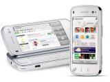 Bild: Das N97 verfügt sowohl über einen Touchscreen, als auch eine QWERTZ-Tastatur.