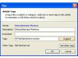 Bild: Blogbridge: RSS-Reader für den eigenen Rechner