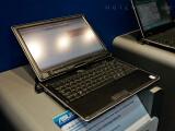 Bild: Die Besonderheit: Aus einem Notebook wird ....