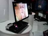 Bild: Sony XEL-1 auf der CES in Las Vegas: Der kleine OLED-TV ist der erste Vorbote einer neuen Generation.