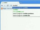 Bild: Die multifunktionale URL-Leiste heißt bei Chrome ab sofort Omnibox und umfasst Stichwortsuche, Auto-Vervollständigung und Link-Vorschläge.