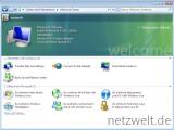 Bild: Windows 7 begrüßt den Nutzer wie aus Vista gewohnt.