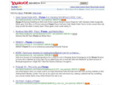 Bild: Yahoo Audio Search