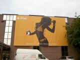Bild: Große iPod-Werbung