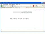 Bild: Über Ihre IP-Adresse und den Port 8000 können andere User Ihnen Daten zusenden, solange das Skript aktiv ist.