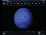 Bild: Der Neptun ist von der Sonne aus gesehen der achte und äußerste Planet im Sonnensystem.