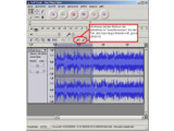 Bild: Die Open-Source-Software Audacity kann MP3-Aufnahmen schneiden.