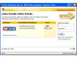 Bild: Um den Bezahlvorgang durchzuführen, müssen Nutzer ihren Benutzernamen und ihr Passwort eingeben.