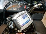 Bild: Extra für Motorradfahrer wurde das Garmin Zumo 400 entwickelt.