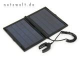 Bild: Die beiden Photovoltaik-Zellen liefern bei optimaler Sonneneinstrahlung eine Leistung von 4,75 Watt.