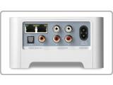 Bild: Die Rückseite des ZP80 hält neben zwei Ethernet-Schnittstellen noch analoge und digitale Audio-Anschlüsse bereit.