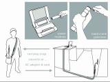 Bild: Einfache Handhabung, Strom per Handkurbel.