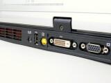 Bild: DVI, VGA sowie S-Video-Ein- und Ausgänge