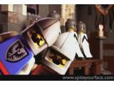 Bild: Viel kürzer aber auch viel professioneller ist die Adaption des Monty-Python-Klassikers <a href=http://www.brickfilms.com/films/966 target=blank>Die Ritter der Kokosnuss</a> von Spite Your Face.