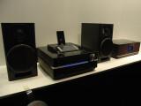 Bild: Sonys neues Hifi-System Giga Juke NAS-SC500 PK speichert die MP3-Sammlung auf einer 160 Gigabyte großen Festplatte.