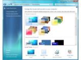 Bild: In der aktuellen Vorabversion von Windows 7 können Sie die Optik des Betriebssystems stärker Ihren Wünschen anpassen.