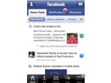 Bild: Das Facebook-Programm zeigt sich auf dem iPhone im Vergleich zu anderen Sozialen Netzwerken sehr umfangreich.