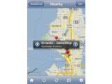 Bild: Auf einer Karte zeigt OmniFocus alle schnell erreichbaren Orte eingetragener Aufgaben an.