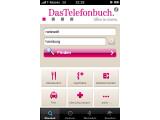 Bild: Neben der deutschlandweiten Suche nach Telefonbucheinträgen enthält das kostenlose iPhone-App ein komplettes Branchen-Verzeichnis
