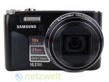 Bild: Der Durchmesser des lichtstarke Objektiv der Kamera ist deutlich größer als bei anderen kompakten Modellen.