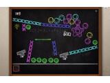 Bild: Ein Art-Puzzle-Spiel ist Blackboard, bei dem man eine Maschine aus verschiedenen Einzelteilen zusammensetzt.