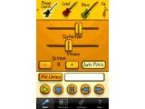 Bild: Mit Voice Band kann der Nutzer leicht Notizen festhalten, indem er in das Mikrofon des iPhones singt. Das Programm rechnet die Stimme in verschiedene Musikinstrumente um.