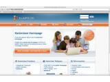 Bild: Kostenloses Angebot von Funpic.de. Das Angebot enthält 5.000 Megabyte Platz für die eigene Homepage, ein kostenloses Fotoalbum und PHP, MySQL Unterstützung.