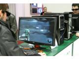 Bild: Gaming-Monitor mit 3D-Anzeige - Shutterbrille nötig.