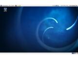 Bild: Das Aussehen von Fedora 13 wurde mit den üblichen Blau-Tönen leicht verschönert.