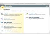 Bild: Beim Starten begrüßt den Anwender eine schöne Welcome-Seite mit wichtigen Hinweisen.