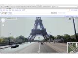 Bild: Der Eiffelturm ist schon bei StreetView zu sehen, bald kommen auch deutsche Denkmäler dazu.