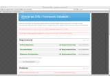 Bild: Das freie CMS wird in nur einem Schritt installiert. Es läuft auf allen Servern mit PHP.