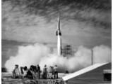 Bild: Die NASA hat zahlreiche Bilder bei Flickr Commons veröffentlicht, hier ein Raketenstart von 1950. (Bild: NASA/Flickr)