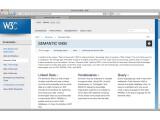 """Bild: RDF ist ein bedeutender Bestandteil der Initiative zum """"Semantic Web"""" des W3C."""
