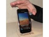 Bild: Der Galaxy Player sieht dem Smartphone Galaxy S zum Verwechseln ähnlich. (Bild: netzwelt)